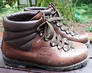 革製登山靴の定番中の定番。